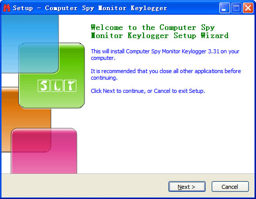 Step1 of Install Keylogger