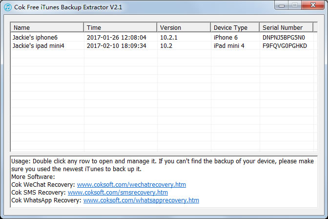 free iphone sms recovery software
